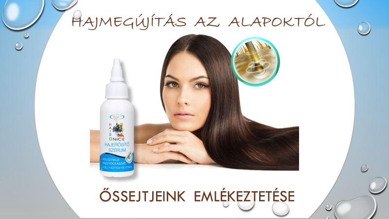 Hajhagyma anti – aging